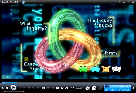 Title Screen of What is Inquiry? Search DVD